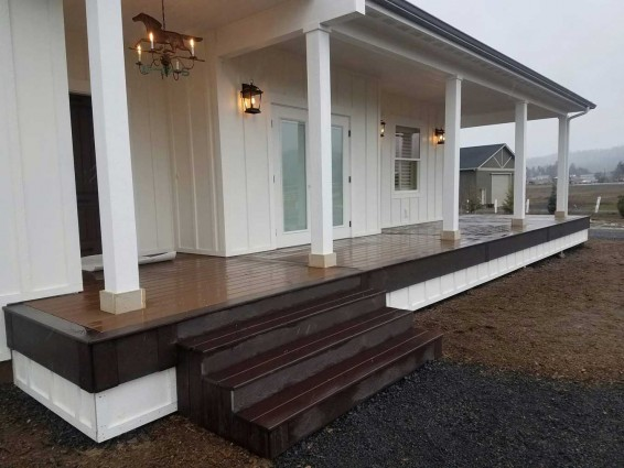 Shed Style Deck Covers
